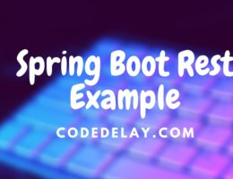 spring boot rest example