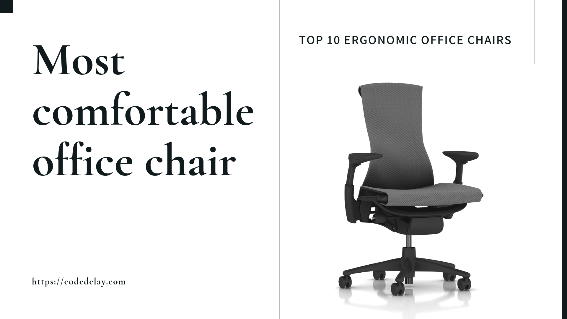Enjoyable Best Chair For Programmers For Working Or Studying Code Delay Machost Co Dining Chair Design Ideas Machostcouk