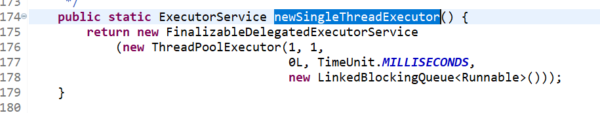 Single Thread Executor Internal